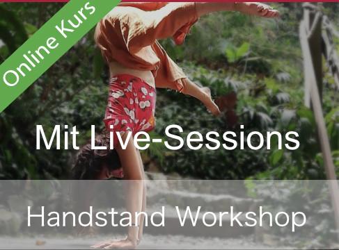 Handstand-Workshop mit individuellen Live Sitzungen